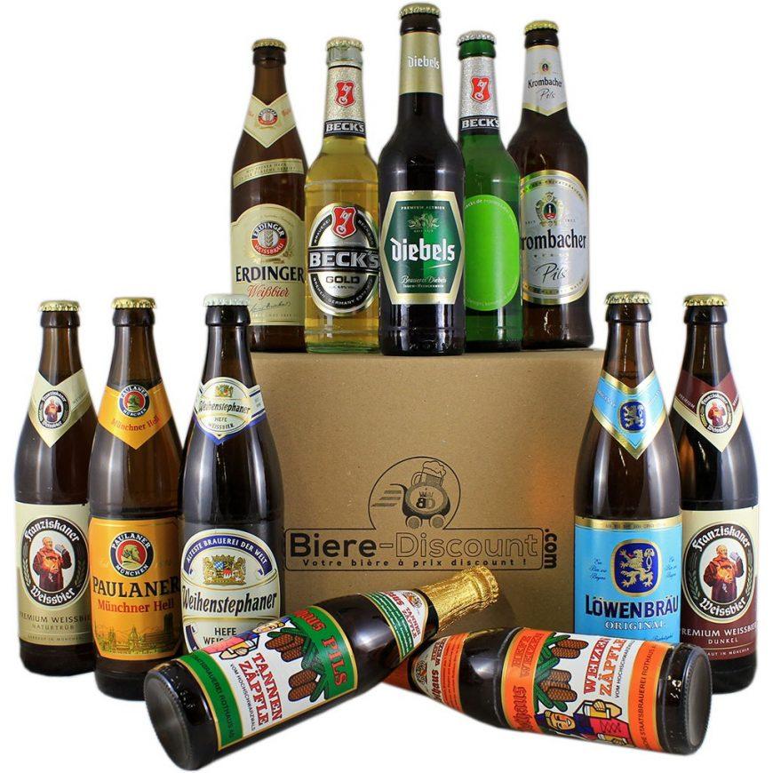 quelles sont les plus  grandes marques de bieres allemandes
