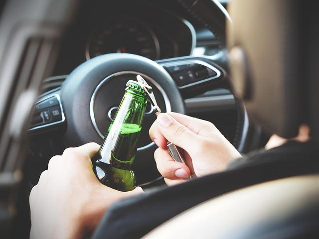 infractions relatives à l'alcoolémie au volant